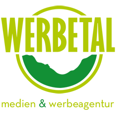 WERBETAL medien & werbeagentur – Beschriftungen, Drucksachen und Werbung aus Wuppertal Logo